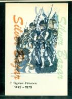 MILITARI - UNIFORMI -REGGIMENTI - 1° REGIMENT D´INFANTERIE - FANTERIA -VALMY - Tiro (armi)