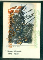 MILITARI - UNIFORMI -REGGIMENTI - 1° REGIMENT D´INFANTERIE - FANTERIA - LES BANDES DE PICARDIE - Tiro (armi)
