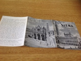 Siena Plan Guide Carte Carte De La Ville - Geographical Maps