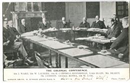 POLITICAL The Colonial Conference 1907 Sir J.Ward Sir W. Laurier Sir Campbell-Bannerman Lord Elgin Mr. Deakin Gen Botha - Ver. Königreich