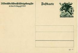 Drittes Reich 1939 Ganzsache Mi P 280, Ostmesse [220314KI] @ - Germany