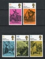 Gran Bretaña 1970. Yvert 591-95 ** MNH. - 1952-.... (Elizabeth II)