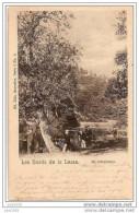 YVOIR ..-- Nels 8 , N° 5 . Les Bords De La LESSE ..-- 1900 Vers ROEULX ( Melle Bertha PONSART ) . Voir Verso . - Yvoir