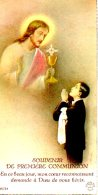 Souvenir De La Communion Solennelle à Sotteville-lès-Rouen En 1938 De Georges Derieux. - Images Religieuses