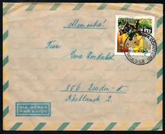 3080 - Alter Beleg Brief - Vila Nova Conceicao Nach Dresden 1974 Luftpost Air Mail - Brasile