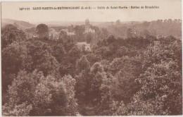CPA 78 SAINT MARTIN DE BRETHENCOURT Près Dourdan Vallée De St Martin Buttes De Brendelles 1947 - Non Classificati