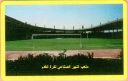Libya - LBY-04, Yellow - Football Stadium - Libye