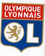 2 Autocollants OLYMPIQUE LYONNAIS - Autocollants