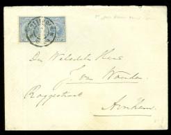 BRIEFOMSLAG Uit 1898 Van ROTTERDAM Naar ARNHEM  (10.439g) - Period 1891-1948 (Wilhelmina)