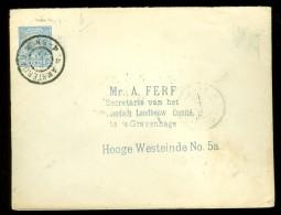 BRIEFOMSLAG Uit 1897 Van AMSTERDAM Naar ´s-GRAVENHAGE  (10.439i) - Periode 1891-1948 (Wilhelmina)