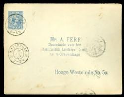 BRIEFOMSLAG Uit 1897 Van ROTTERDAM Naar ´s-GRAVENHAGE  (10.439j) - Period 1891-1948 (Wilhelmina)