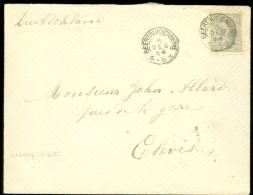 BRIEFOMSLAG Uit 1899 Van GEERTUIDENBERG Naar CLEVES DEUTSCHLAND  (10.439L) - Periode 1891-1948 (Wilhelmina)