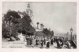 Monte Carlo, Theatre Et  Terrasses, Belebt - Monte-Carlo