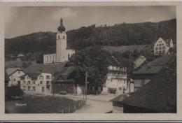 Balgach - Dorfansicht Mit Kirche Und Handlung - SG St. Gall