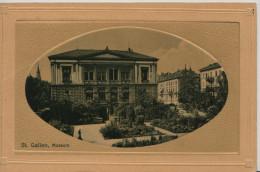 St. Gallen - Museum - Prägedruck - SG St. Gall