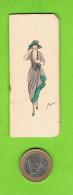 Kleine Kalender, 1922, Offert Par Les Grandes Galeries Belges 62, Avenue De Keyser Anvers - Calendriers