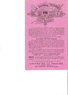 PUBLICITE - 71 - DIGOIN - USINES DE LA BROCHE - RECHAUD LE DIABLE ROUSSET - ANNEES 30 - B089 - 1900 – 1949