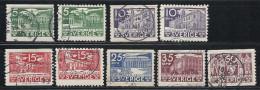 Schweden, 1935, Michel-Nr. 221-226 A+B, Gestempelt - Used Stamps