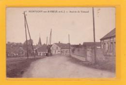 MONTIGNY-SUR-AVRE > 28 > Arrivée De Verneuil > Tres Petite Animation Lointaine - Montigny-sur-Avre