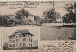 Eichberg, Gruss Aus - Kirche Und Pfarrhaus, Schulhaus - SG St. Gall
