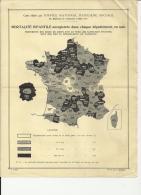 MED040 - MEDECINE - OFFICE NATIONAL HYGIENE SOCIALE à PARIS 10 E - CARTE MORTALITE INFANTILE 1926 - Pubblicitari