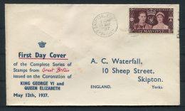 1937 GB Coronation Cover - 1902-1951 (Kings)