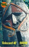 VANUATU 900 VATU PIN NATIVE MASK ART 1ST PIN ISSUE ED.31-12-2001  READ DESCRIPTION !! - Vanuatu