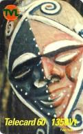 VANUATU 1350 VATU PIN NATIVE MASK ART 1ST PIN ISSUE ED.31-12-2001  READ DESCRIPTION !! - Vanuatu