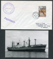 1976 Manama Bahrain Netherlands Ship Cover (+ Photo) Paquebot Rotterdam MARNE LLOYD - Bahrain (1965-...)
