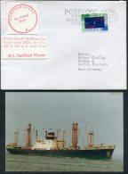 Netherlands Ship Cover (+ Photo) Nedlloyd Lines M.V. NEDLLOYD RHONE - Covers & Documents