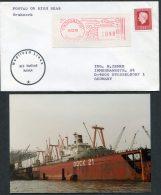 1979 Japan Yokohama Netherlands Ship Cover (+ Photo) Nedlloyd Lines M.V. NEDLLOYD KATWIJK - 1926-89 Empereur Hirohito (Ere Showa)