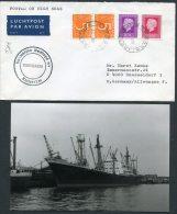 Kenya Netherlands Ship Cover (+ Photo) Nedlloyd Lines Mombasa PAQUEBOT SEROOSKERK Rotterdam - Kenya (1963-...)