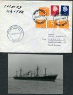1971 South Africa Netherlands Ship Cover (+ Photo) Nedlloyd Capetown PAQUEBOT SIMONSKERK - South Africa (1961-...)