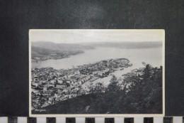 CP, Norvege, BERGEN   General View Edition Eneret Mittet And Co - Noruega