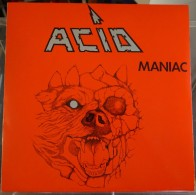 ACID - 33 LP Giant G712 - MANIAC - 1983 - NM/NM - Hard Rock & Metal