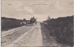 Epe - Weg Naar Het Kamp Met Paard En Wagen - Epe