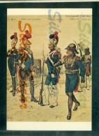MILITARI - UNIFORMI -REGGIMENTI -  MUSEE DE PHALSBOURG - GUIRE´ - GARDE IMPERIALE GENIE - Uniformes