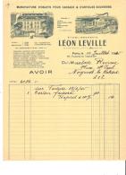 AVOIR - 75 - PARIS 11e - CADEAUX VERRERIE NACRE OS GALALITH ARTICLES POUR FUMEURS LEON DEVILLE - 1945 - 688 - 1900 – 1949