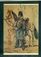 MILITARI - UNIFORMI -REGGIMENTI -  MUSEE DE PHALSBOURG - GUIRE´ - 9° HUSSARDS - Uniforms
