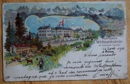 Suisse - Weissenstein Bei Solothurn : Kurhaus - Type Précurseur 1901 - (n°5963) - SO Soleure