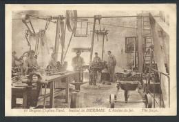CPA - Institut De BIERBAIS - Belgian Orphan Fund. - L'Atelier Du Fer - The Forge   // - Mont-Saint-Guibert