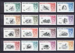 Falkland Islands  1960  SG 193-207  */mint  (£  170.00) - Falkland Islands