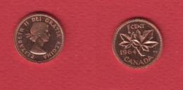Canada --1 Cent 1964 -- KM # 49  --   état UNC - Canada