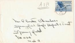 OIS-L58 - CANADA Lettre Par Avion Affr. Oie Sauvage 1954