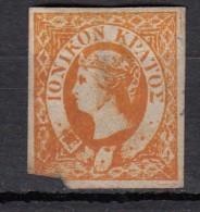 Ioniennes  Victoria YT N°1 1/2 P Orange - Grande-Bretagne (ex-colonies & Protectorats)