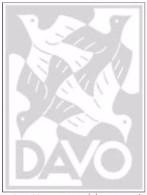 Feuilles Davo Belgique - Année 1996 - LIRE !!! - Pré-Imprimés