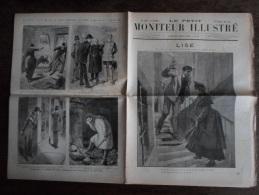 MONITEUR ILLUSTRE - 1885 - 10 - LISE Par JULES CLARETIE - DEBANS - GUERRE 1870 - MARINE NATIONALE - RESTAURANT POPULAIRE - 1850 - 1899