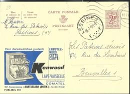 Publibel Obl. N° 2141 ( Lave-vaiselle KENWOOD) Obl: Lessines 1966 - Publibels