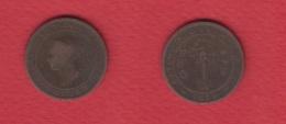 Ceylon --  1 Cent 1870   --  KM # 92  --  état TB - Sri Lanka