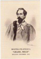 BOLZANO - 2013 - Francesco Nullo Garibaldino Dei Mille - 150° Anniv. Della Morte 1863 - 2013 - - Geschichte